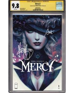 Mercy #1 - Artgerm variant cover signed + CGC