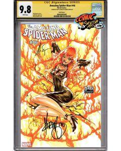 Amazing Spider-Man #46 - Mirka Andolfo variant cover signed + CGC