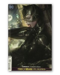 Catwoman #15 - Artgerm Variant Cover Foil Gold - Signed