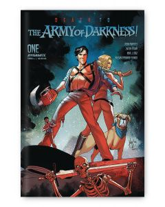 Death to the Army of Darkness #1 - Mirka variant cover signed