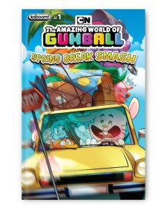 The Amazing World of Gumball Spring Break Smash - Signed