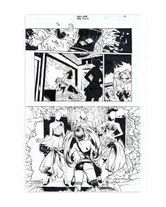 Harley Quinn Black + White + Red - Fashion Victim - Page 03