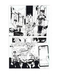 Harley Quinn Black + White + Red - Fashion Victim - Page 04