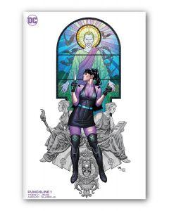 Punchline #1 - Cho variant cover (Minimal Variant)