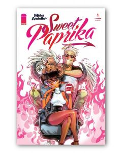Sweet Paprika issue #1 - Cover Andolfo - Signed by Mirka Andolfo