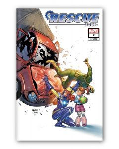 Rescue (2020) #2 - Variant Cover Mirka Andolfo - Signed