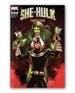 She-Hulk Annual #1 - Signed