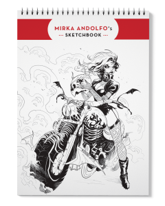 Mirka Andolfo's Sketchbook 1