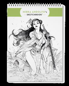 Mirka Andolfo's Sketchbook 3