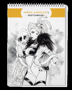 Mirka Andolfo's Sketchbook 4