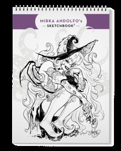 Mirka Andolfo's Sketchbook 5