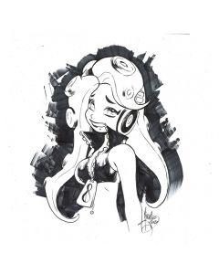 Marina from Splatoon (for charity) - #blacklivesmatter