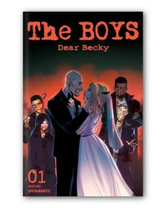 The Boys Dear Becky #1 Sad Lemon Exclusive Limited Edition - Mirka Andolfo Virgin Covers Bundle - Signed
