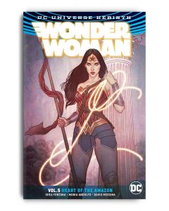 Wonder Woman Vol. 5 - Heart of the Amazon, TPB - Signed