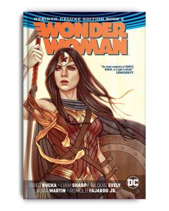 Wonder Woman: The Rebirth Deluxe Edition Book 2 - Signed with remark