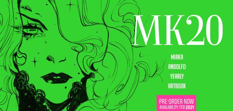 MK20 Mirka Andolfo Yearly Artbook